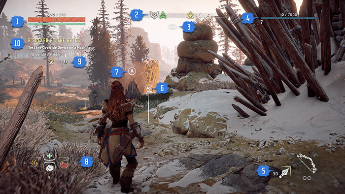 game screen guide