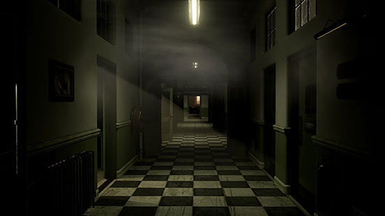 Until Dawn creepy corridor