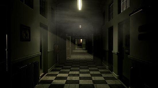 Until Dawn creepy corridor