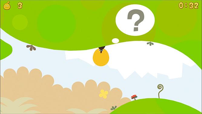 screenshot showing the questions mark symbol