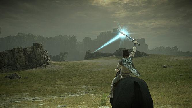 Raising your sword