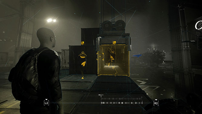Screenshot showing the R2 mind palace button