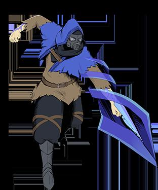 Blue Swordmaster