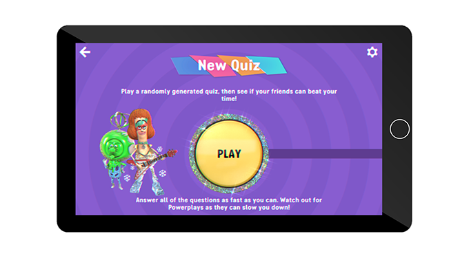 Play a new quiz