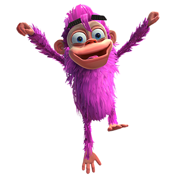 purple chimp