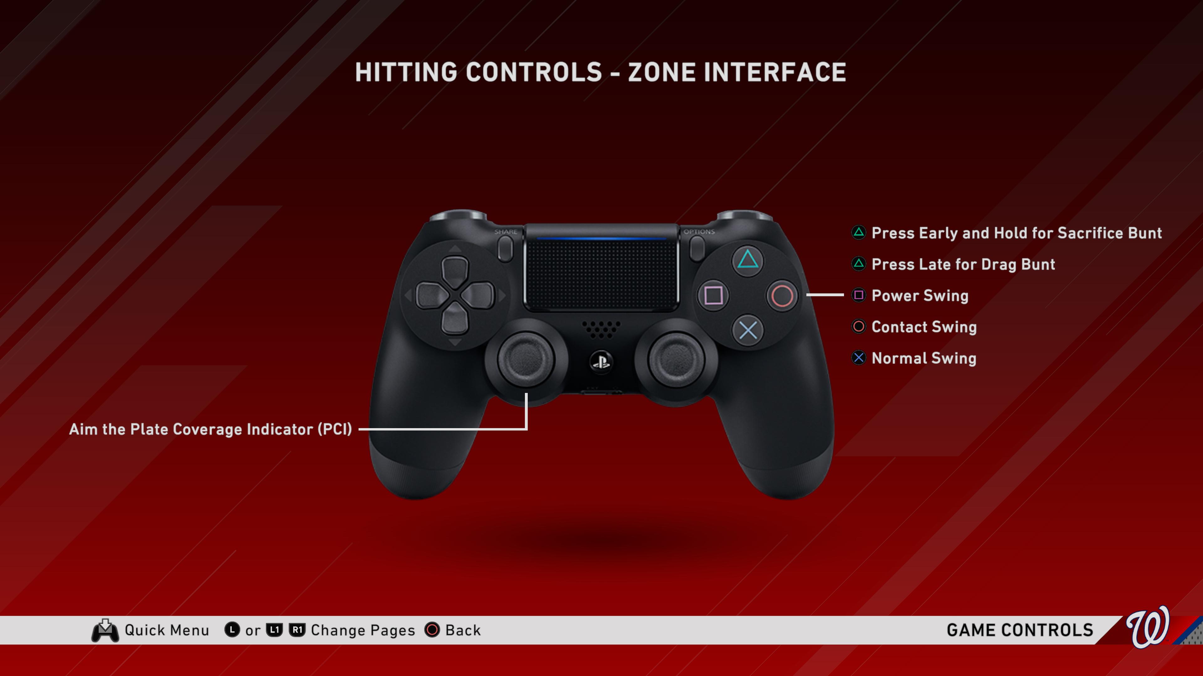 hitting control setting