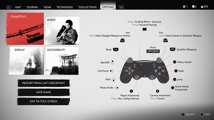Controller with accessibility options